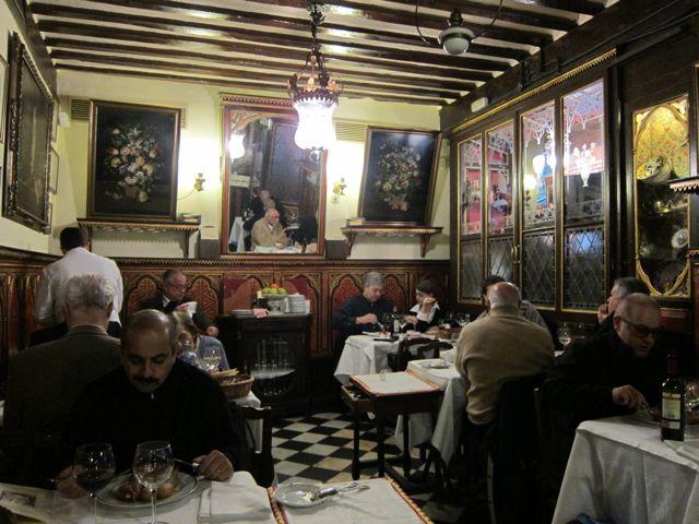Restaurante botin madrid elizabeth minchilli for Casa botin madrid