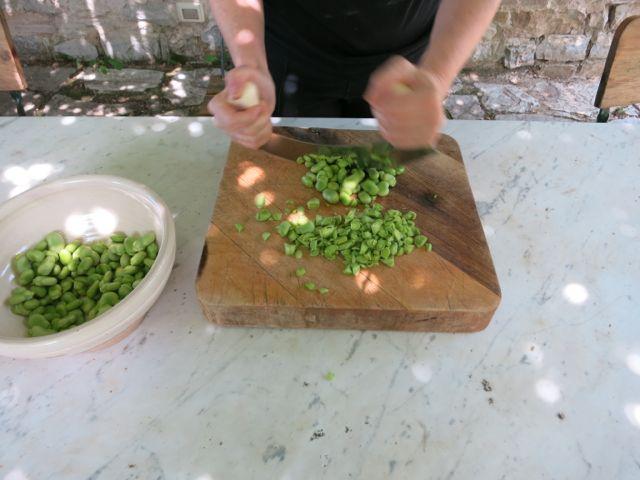 fave + pecorino bruschetta www.elizabethminchilliinrome.com