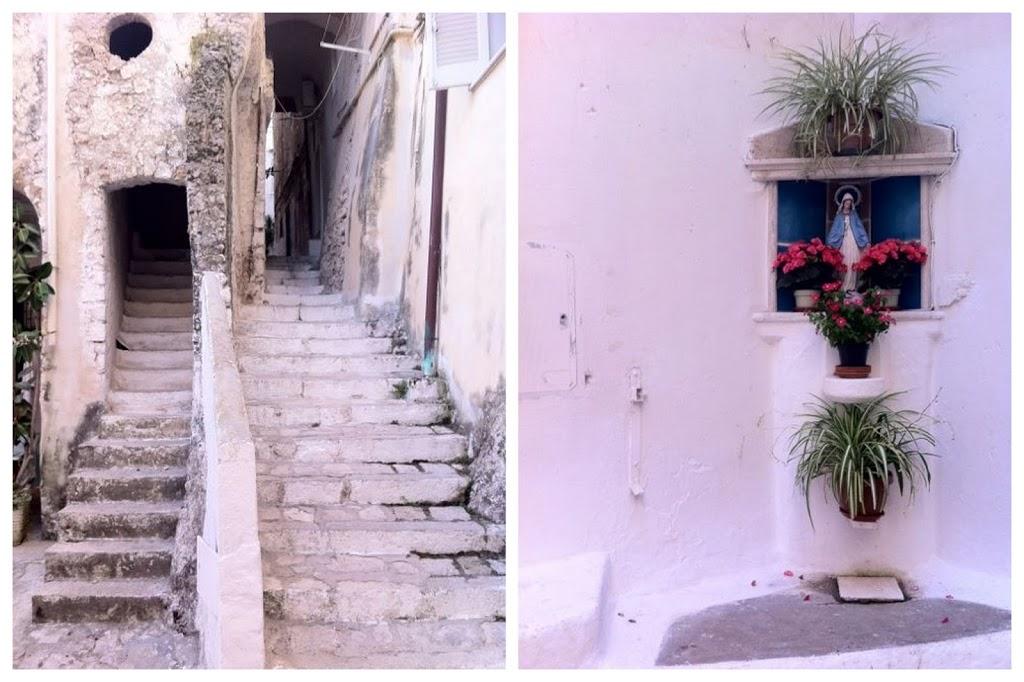 Sperlonga: the old town.