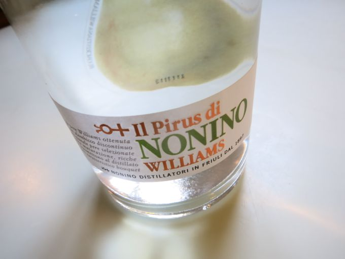 Pear Acquavite for Swiss Cheese Fondue