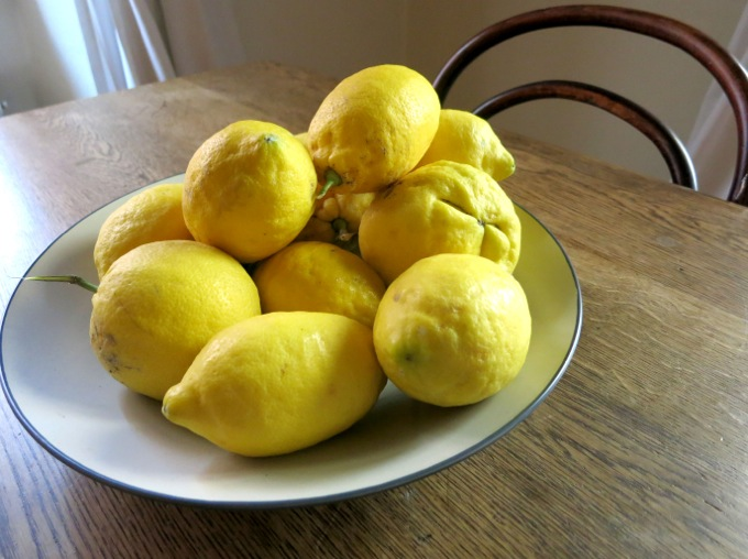 Lemons for Pasta with Artichokes, peas and mint - 17