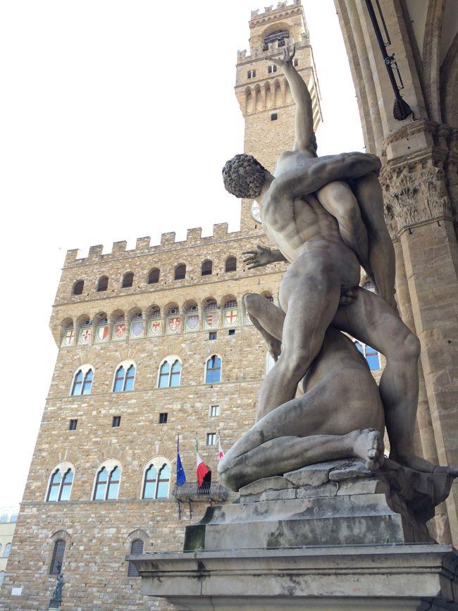Rape of the Sabine, Piazza della Signoria, Florence