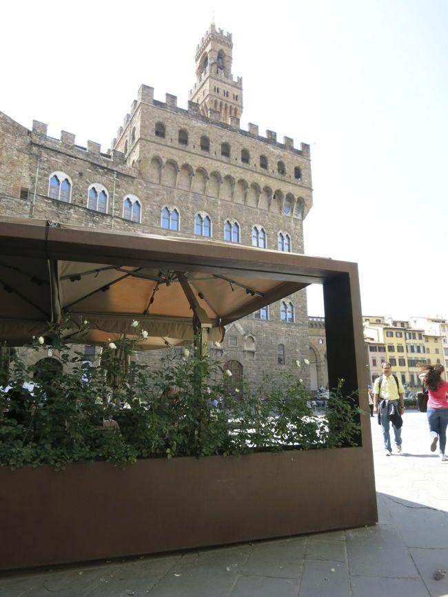 Gucci Cafe, Piazza della Signoria, Florence