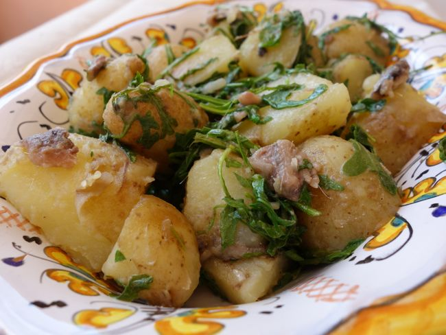 Potatoes and Anchovies