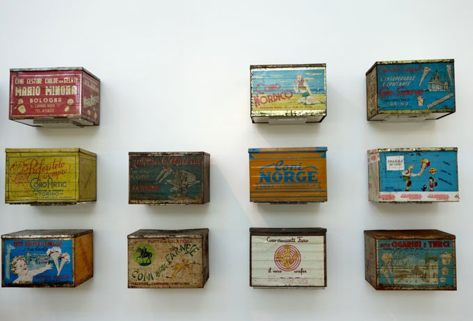 Antique Ice Cream Cone Boxes