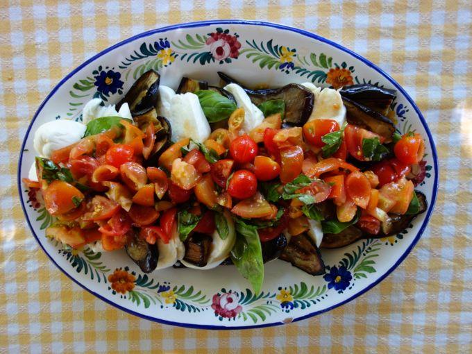 Eggplant Caprese Elizabeth Minchilli In Rome6