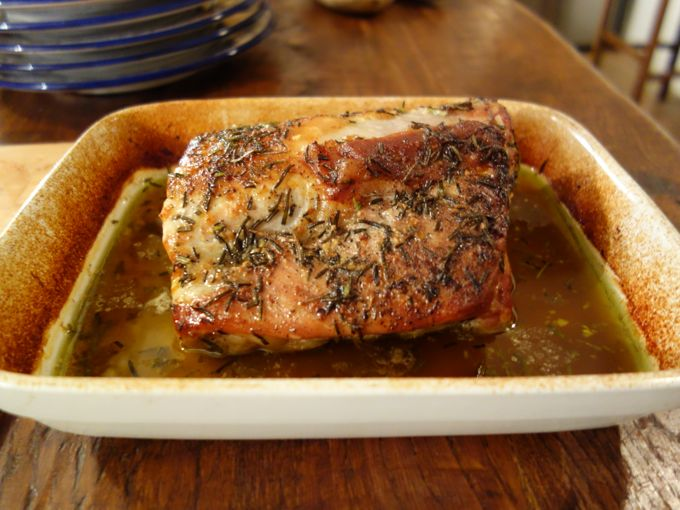 Paola's Pork Roast with  Beer1