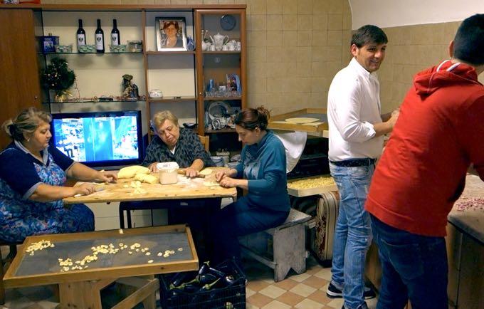 Making Panzerotti at Nunzia's House