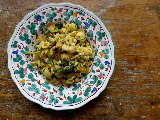 Oreccchiette with Turnip Greens