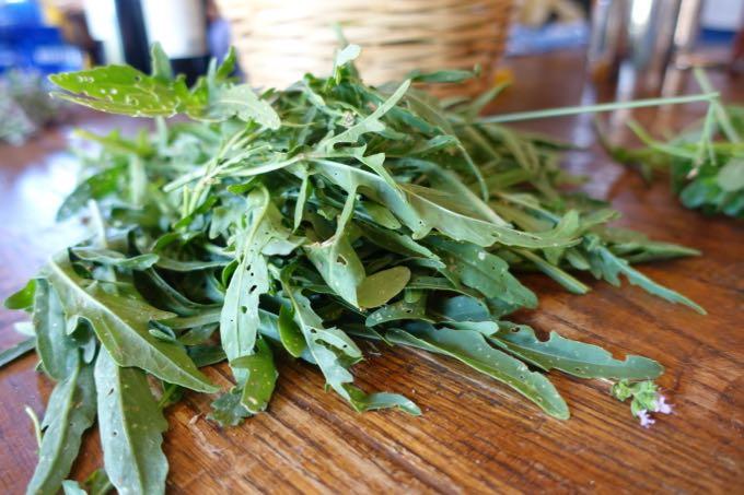 Zucchini and Arugula Salad - 1
