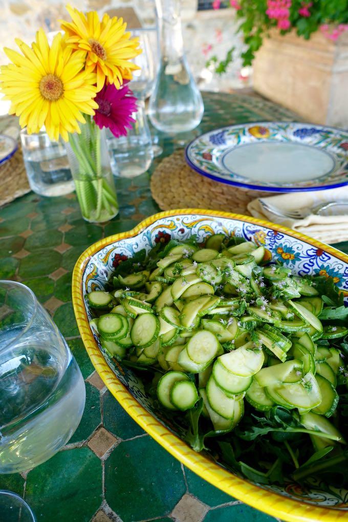 Zucchini and Arugula Salad - 11
