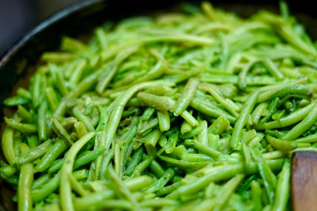 Sicilian style green beans for Style green