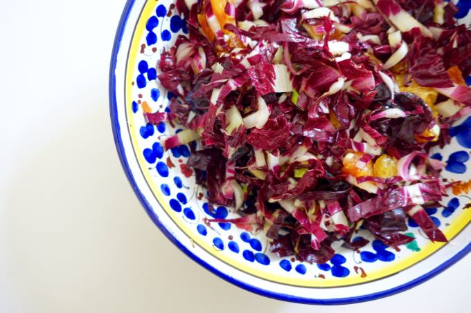 Radicchio and Orange Salad Elizabeth Minchilli