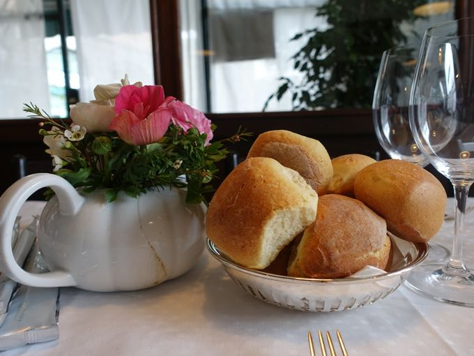 Eating Bread in Italy